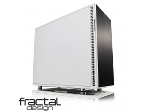 מארז מחשב Fractal Design Define R6 USB-C White בצבע לבן