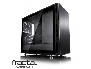 מארז מחשב Fractal Design Define R6 USB-C Blackout – TG בצבע שחור