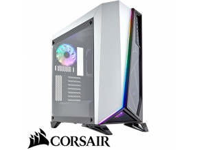 מארז מחשב Corsair Carbide Series Spec-Omega RGB בצבע שחור ולבן