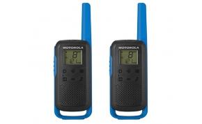 אדיר זוג מכשירי קשר Motorola TLKR T80 בצבע כסוף ושחור UQ-83