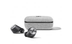 אוזניות אלחוטיות Sennheiser MOMENTUM עם מיקרופון Bluetooth בצבע שחור הכוללות כיסוי טעינה