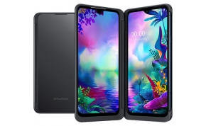 סמארטפון LG G8X ThinQ Dual Screen LM-G850EMW 128GB בצבע שחור - אחריות היבואן הרשמי