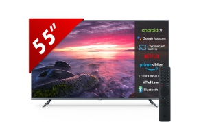 טלוויזיה חכמה Xiaomi L55M5-5ASP UHD-4K LED 55 אחריות היבואן הרשמי